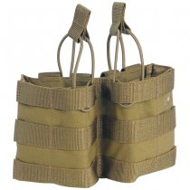 Tasmanian Tiger 2 Single Magazine Pouch Bungee HK417 - Khaki
