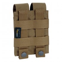 Tasmanian Tiger Double Pistol Magazine Pouch - Coyote