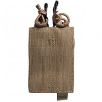 Tasmanian Tiger Double Pistol Magazine Pouch Velcro - Coyote