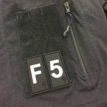 Pitchfork Number 5 Patch - Black