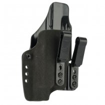 Haley Strategic G-Code INCOG IWB Full Guard Holster Glock 19 & Streamlight TLR-1 - Black
