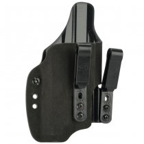Haley Strategic G-Code INCOG IWB Full Guard Holster Glock 19 & Inforce APL - Black