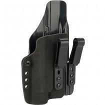 Haley Strategic G-Code INCOG IWB Full Guard Holster Glock 17 & Streamlight TLR-1 - Black