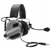 Earmor M32 MOD1 Tactical Hearing Protection Ear-Muff - Grey