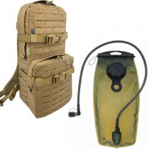 Pitchfork Medium Cargo & Hydration Pack Combo - Coyote