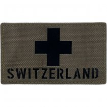 Pitchfork Switzerland IR Cordura Patch - Ranger Green