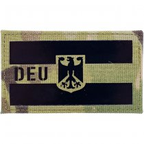Pitchfork Germany IR Cordura Patch - Multicam