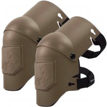 Agilite Axis Knee Pads - Dark Earth