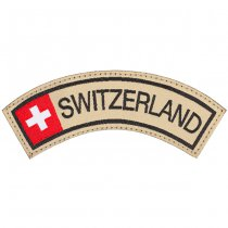 Clawgear Switzerland Tab Patch - Color