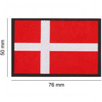 Clawgear Denmark Flag Patch - Color