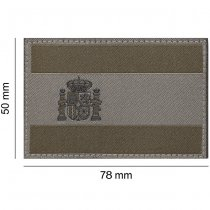 Clawgear Spain Flag Patch - RAL7013