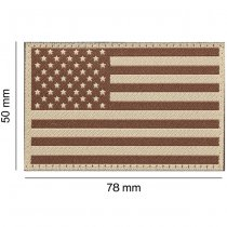 Clawgear USA Flag Patch - Desert