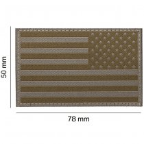 Clawgear USA Reversed Flag Patch - RAL7013