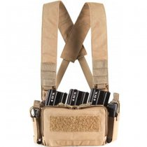 Haley Strategic D3CRM Micro Chest Rig - Coyote