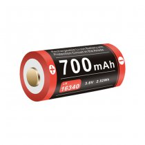 Klarus 16340 Battery 3.7V 700mAh Micro-USB