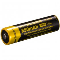 Nitecore 14500 Battery 3.7V 850mAh