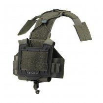 Agilite Bridge Tactical Helmet Accessory Platform - Ranger Green
