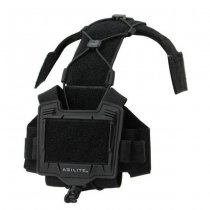Agilite Bridge Tactical Helmet Accessory Platform - Black