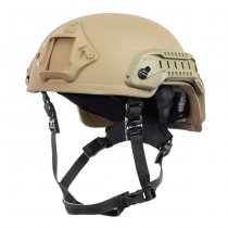 NEXUS SF M3 Railed Special Forces Helmet - Tan