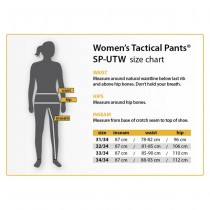 HELIKON Women's Urban Tactical Pants® - PolyCotton Ripstop - Black 3