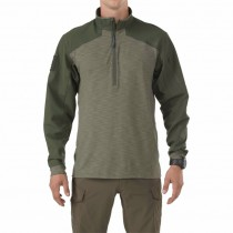 5.11 Rapid Shirt Quarter Zip - TDU Green