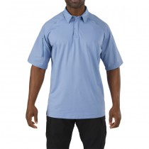 5.11 Rapid Performance Short Sleeve Polo - Fire Med Blue