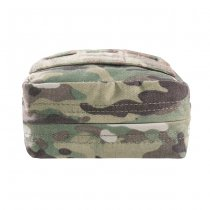 Warrior Laser Cut Small Vertical Utility Pouch - Multicam