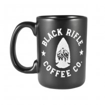 Black Rifle Coffee Arrowhead Ceramic Mug