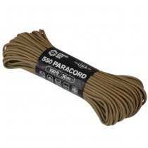 Atwood Rope 550 Paracord 100ft - Coyote