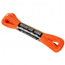 Atwood Rope 275 Tactical Reflective Cord 50ft - Neon Orange
