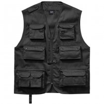 Brandit Hunting Vest - Black - 2XL