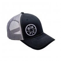 Black Rifle Coffee Reticle Logo Trucker Hat - Black / Dark Grey