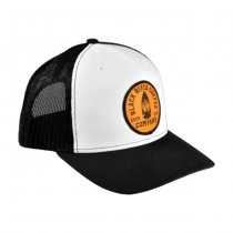 Black Rifle Coffee Established Arrowhead Patch Hat - White & Black
