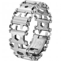 Leatherman Tread Travel Friendly Multi-Tool Bracelet - Silver